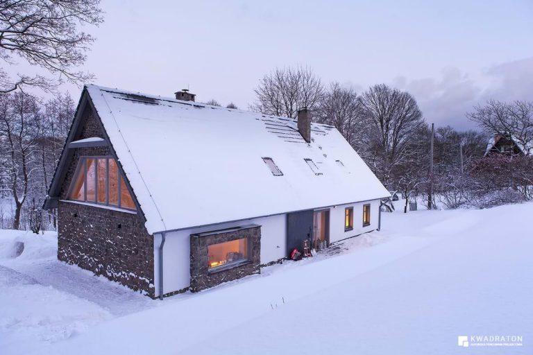 kwadraton » Dom w Górach Orlickich