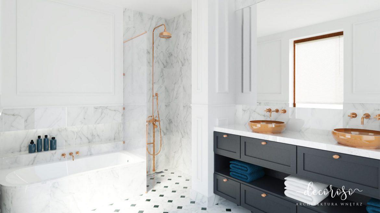 Aranżacje łazienek Z Wanna I Prysznicem M Mieszkanie