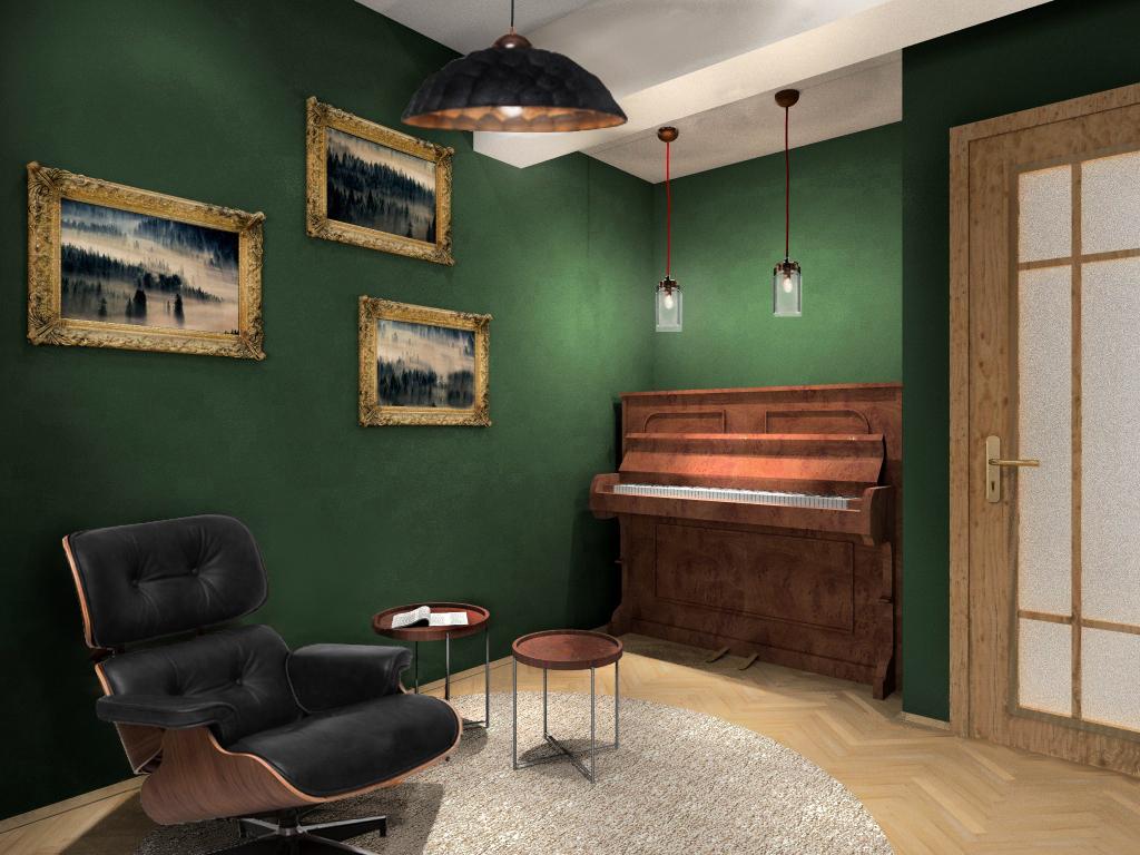 Fluo Design » Gabinet z funkcją wypoczynkową