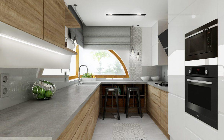 Aranżacje Małej Kuchni W Stylu Skandynawskim M Mieszkanie
