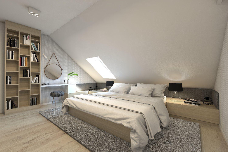 6 pomysłów na komfortową sypialnię na poddaszu - M-Mieszkanie