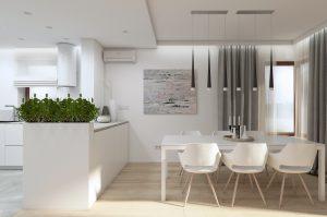 Studio Pniak » Stonowane wnętrze 150 m2