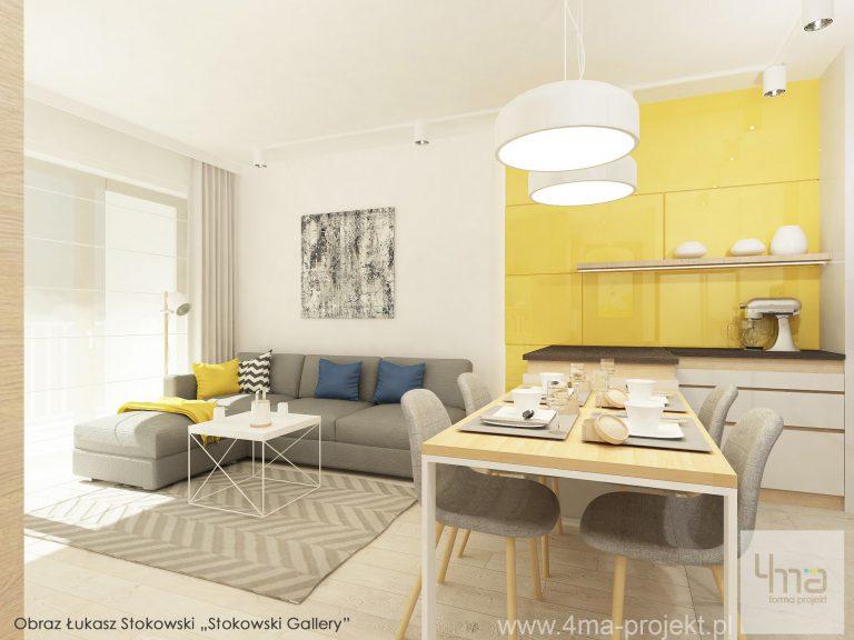 4maprojekt » Mieszkanie w Wilanowie 55 m2