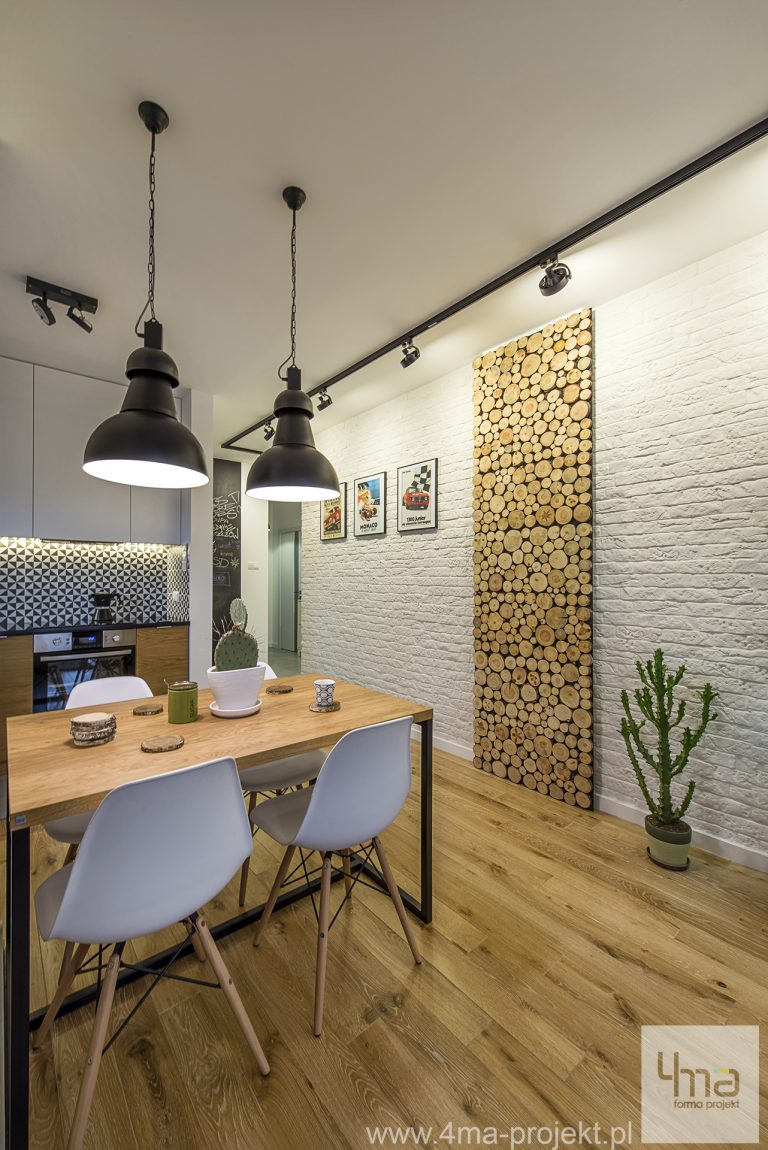 4maprojekt » Mieszkanie Osiedle Saska 66 m2