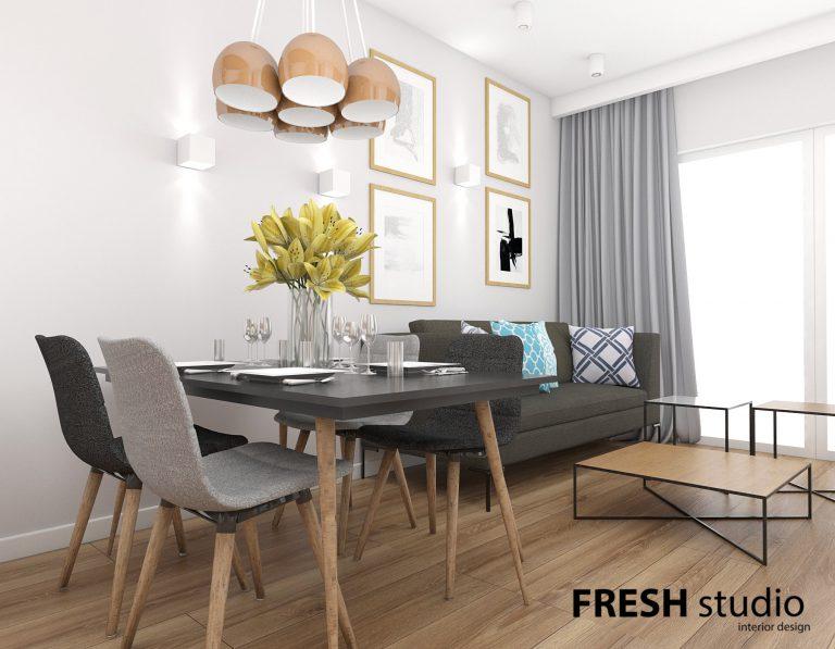 Fresh Studio » Przytulna kawalerka