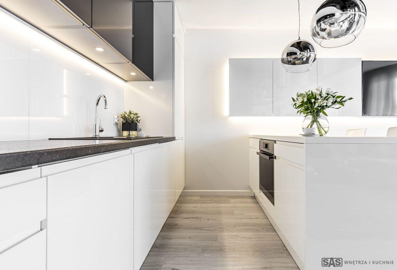 Sas Wnętrza I Kuchnie Nowoczesny Apartament M Mieszkanie