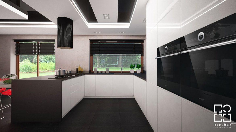Studio Mandala Kuchnia W Domu Jednorodzinnym 160 M2 M Mieszkanie
