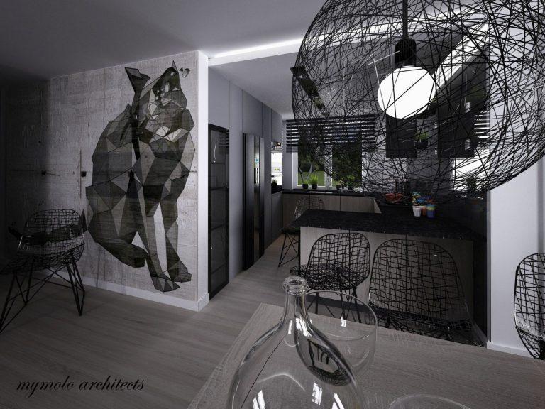 patrycja-dabek » Stylowy dom z czernią