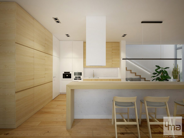 4maprojekt » Dom Warszawa Włochy 311 m2