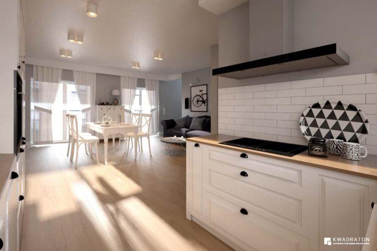 kwadraton » Dom w stylu skandynawskim