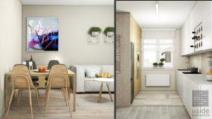 studio-inaczej » Mieszkanie w jasnych barwach Wrocław