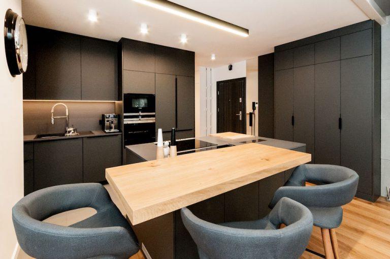 olafredowicz » Projekt wnętrz mieszkania w Katowicach