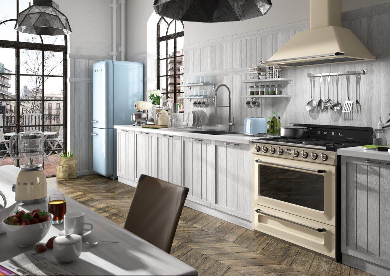 Aranżacja Kuchni W Stylu Vintage M Mieszkanie