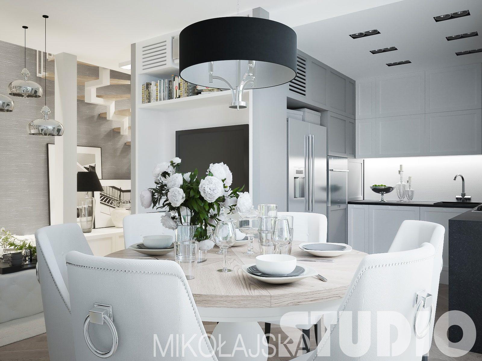 Jak Urządzić Kuchnię Glamour M Mieszkanie