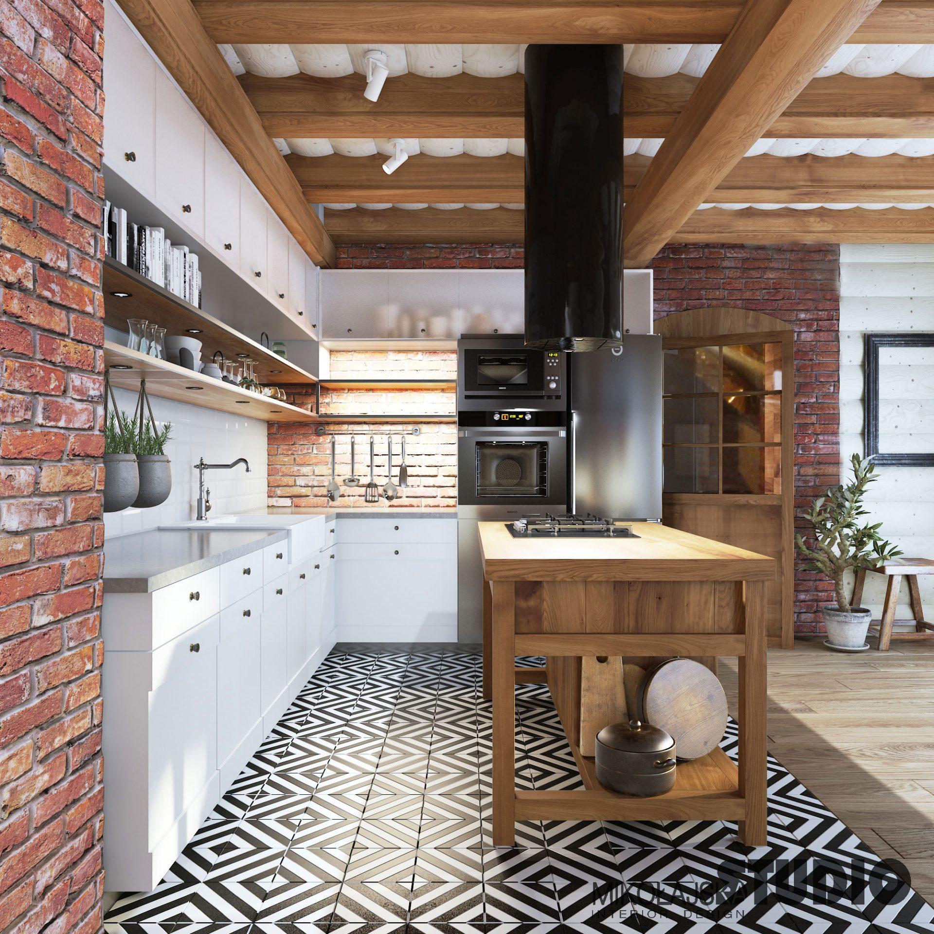 Jak Urządzić Kuchnię W Stylu Rustykalnym M Mieszkanie