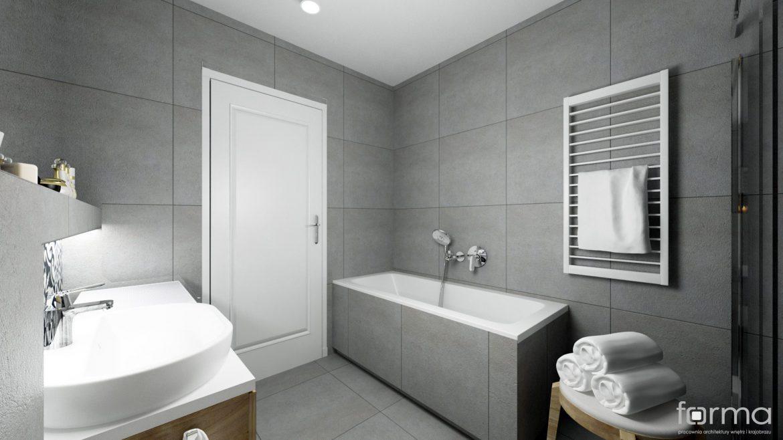 Forma łazienka Gorlice M Mieszkanie