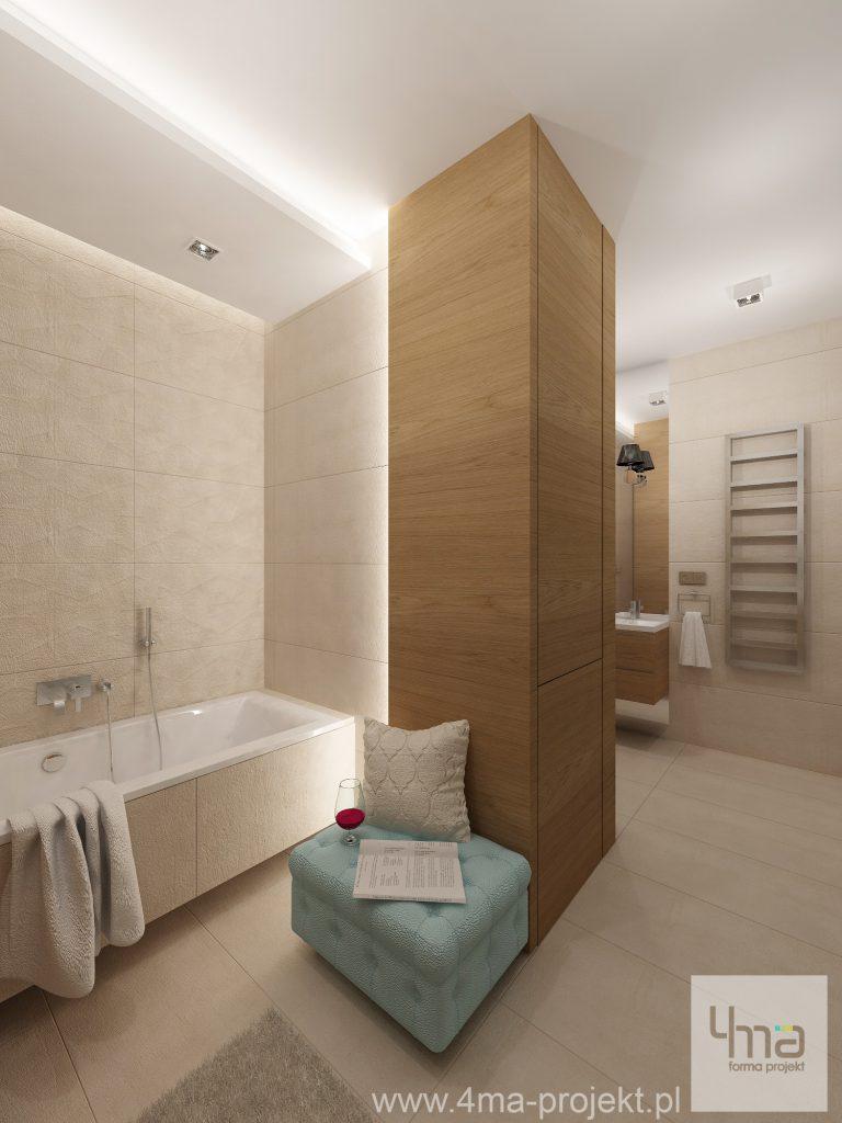 4maprojekt » Mieszkanie na Woli 78 m2