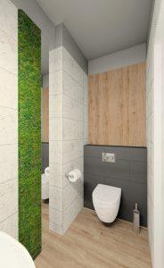 Projekt Małej łazienki M Mieszkanie