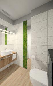 Fluo Design » Projekt małej łazienki