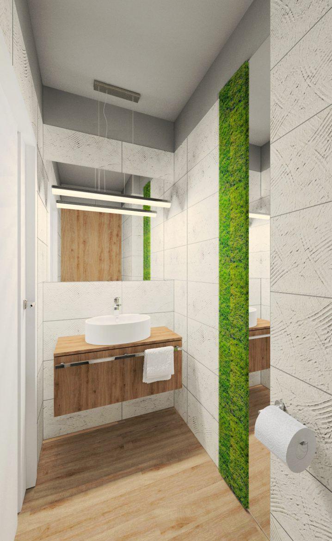 Fluo Design Projekt Małej łazienki M Mieszkanie
