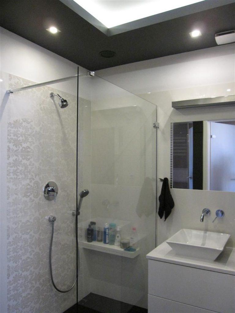 Alicja Watroba » Mała łazienka w eleganckim stylu