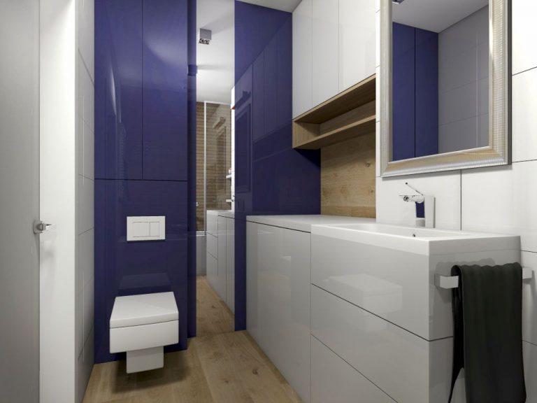 polakstudio » Mieszkanie z dodatkiem niebieskiego