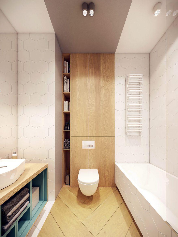 6 Pomysłów Na Urządzenie łazienki Na 6m2 M Mieszkanie