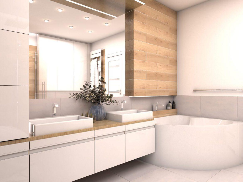 Najlepsze Aranżacje łazienek Z Wanną Narożną M Mieszkanie