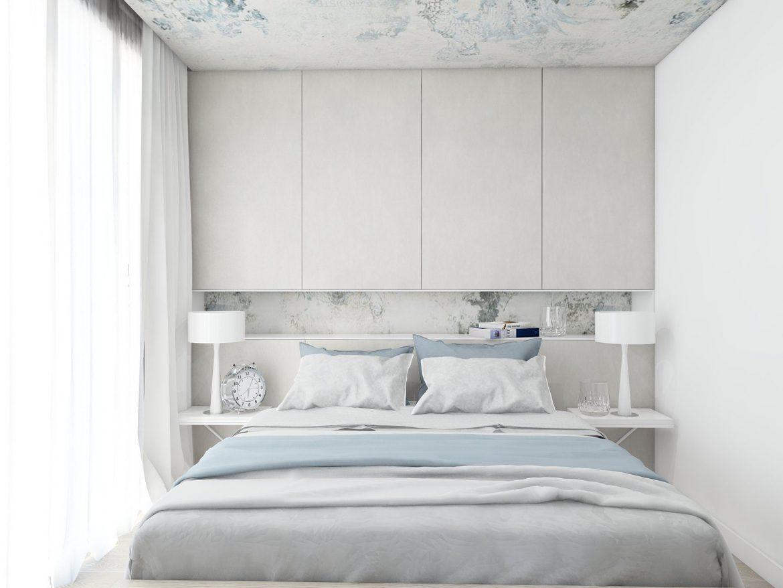 Aranżacja Sypialni W Niedużym Pomieszczeniu M Mieszkanie