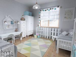 kodadesign » Mieszkanie w bieli i szarościach