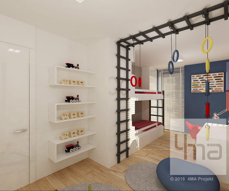 4maprojekt » Mieszkanie na Muranowie 85 m2