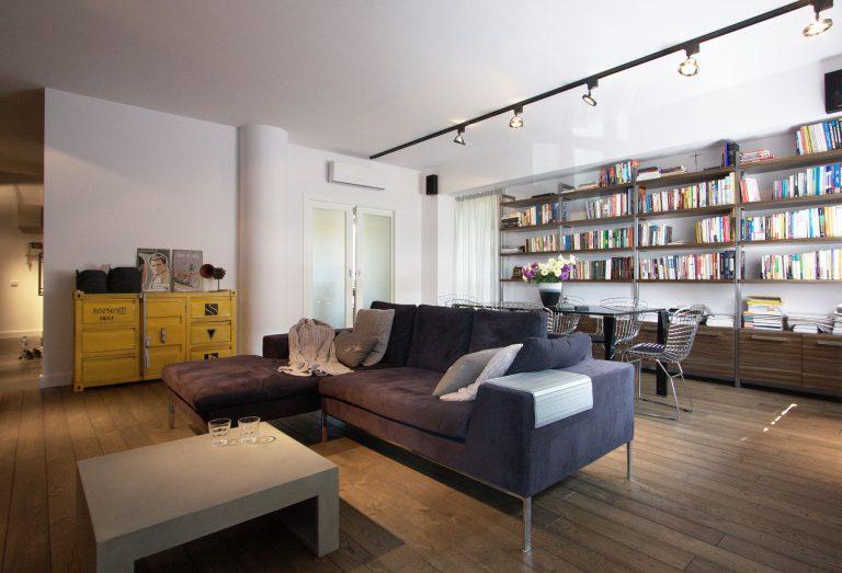 Soma Architekci » Apartament Industrialny 150 m2