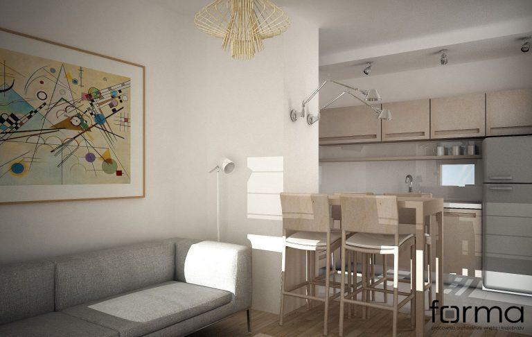 FORMA » Minimalistyczne mieszkanie