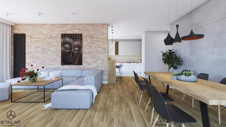 boskeart » Apartament w Poznaniu w szarościach