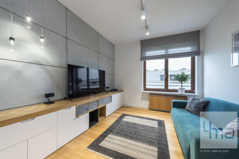 4maprojekt » Mieszkanie na Mokotowie 160 m2