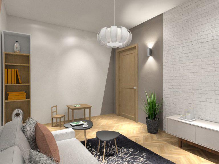 Fluo Design » Sypialnia w pastelowych kolorach