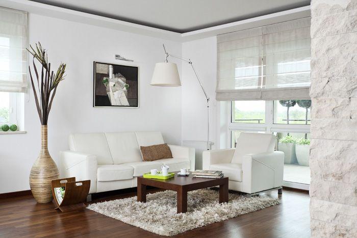 polakstudio » Mieszkanie w bieli i brązach