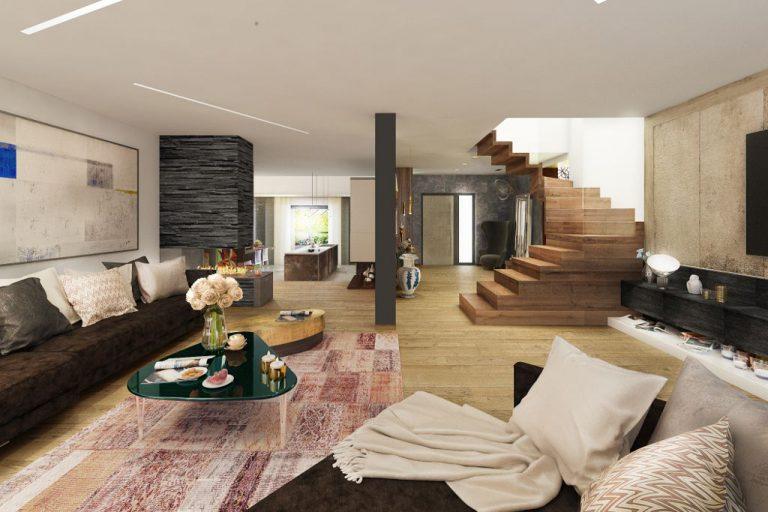 Viva Design » Rezydencja na wzgórzu