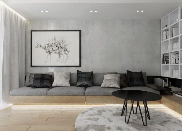 ewitkowska » Mieszkanie z żółtym akcentem