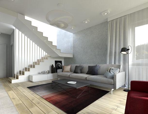 double-look-design » Szary dom w Krakowie