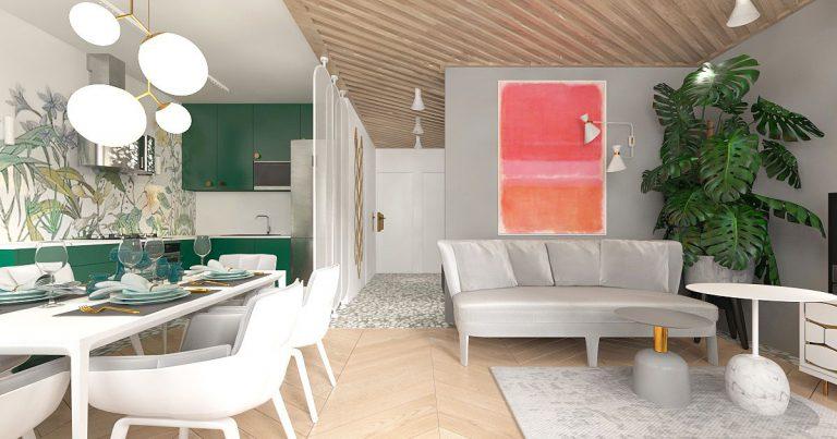 loci » Projekt mieszkania Rybnik
