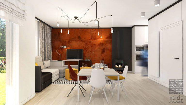 studio-inaczej » Mieszkanie ognista rdza Wrocław
