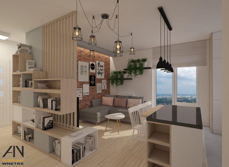 AINprojektowanie » Mieszkanie na Ursynowie
