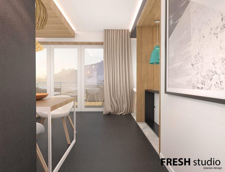 Fresh Studio » Z górskim widokiem