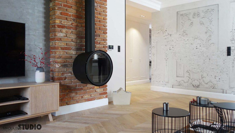 Pomysł Na ścianę W Salonie M Mieszkanie