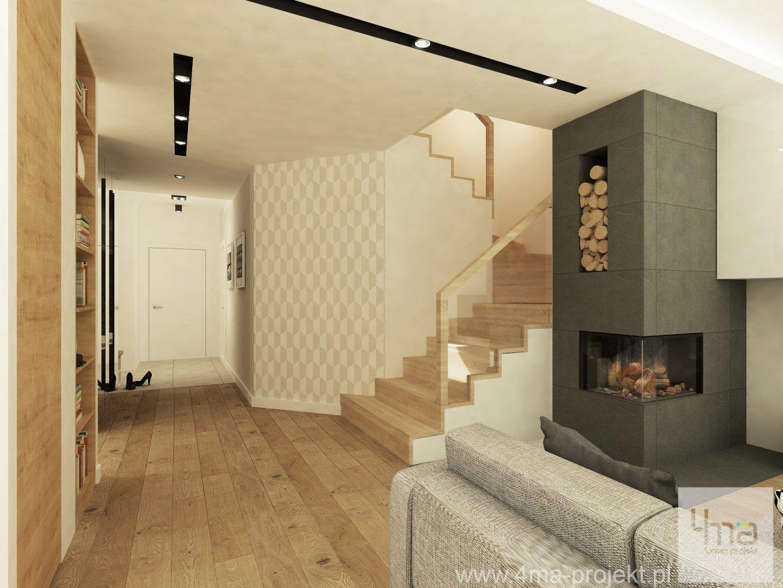 4maprojekt » Dom w Ożarowie Mazowieckim 125 m2