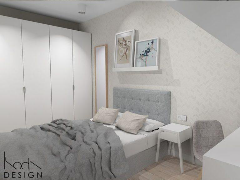 Karina Marzec » Dom w bieli w zabudowie bliźniaczej