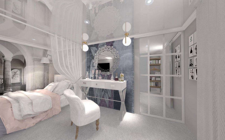 Decoretti Sypialnia Glamour M Mieszkanie