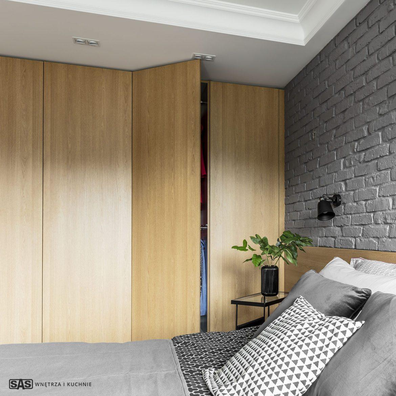 Sas Wnętrza I Kuchnie Mieszkanie Z Akcentami Czerwieni M
