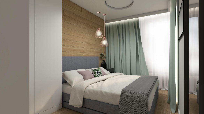 Studio Pniak Zieleń Butelkowa 63 M2 M Mieszkanie